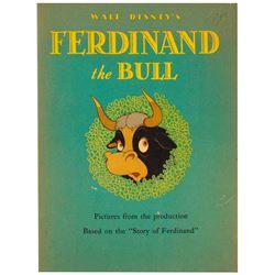 """Walt Disney's Ferdinand the Bull"" First Edition."