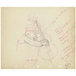 """Mother Goose Goes Hollywood"" Production Drawing."