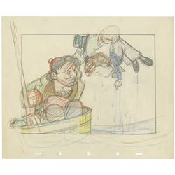 "Layout Drawing from ""Mother Goose Goes Hollywood""."