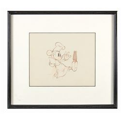 "Production Drawing from ""Mickey's Trailer""."