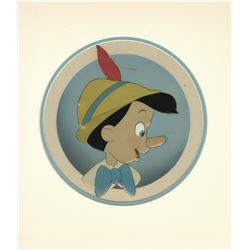 "Original Production Cel from ""Pinocchio""."