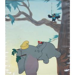 """Dumbo"" Original Production Cel."