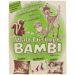 """Bambi"" Promotional Campaign Booklet."