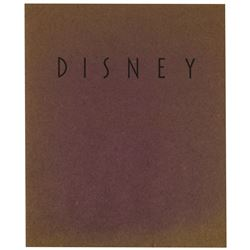 Walt Disney Retrospective Exhibition Catalogue.