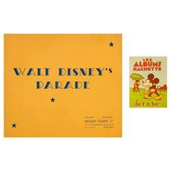 """""""Walt Disney's Parade"""" Picture Album & Catalog."""