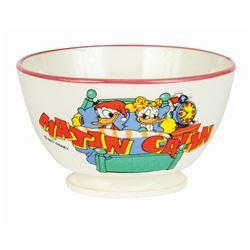 Donald and Daisy Ceramic Bowl.