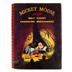 Walt Disney Character Merchandise Book.