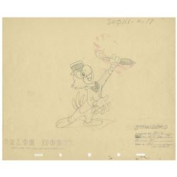 """""""The Three Caballeros"""" Jose Color Model Drawing."""