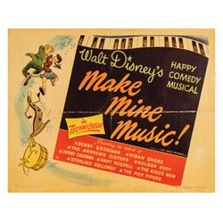 "Walt Disney's ""Make Mine Music"" Movie Poster."