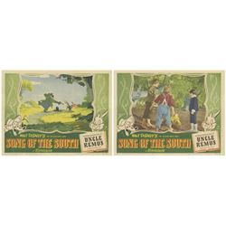 "Pair of ""Song of the South"" Lobby Cards."
