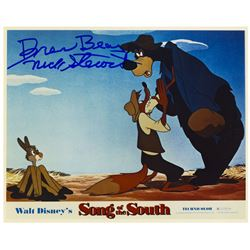 Br'er Bear Signed  Song of the South  Photo.
