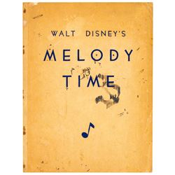 """Walt Disney's Melody Time"" Book."