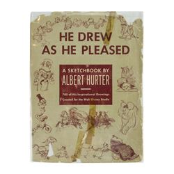 """He Drew as He Pleased"" Walt Disney Studio Hardcover."