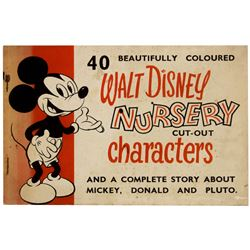 Walt Disney Nursery Cut-Out Characters.