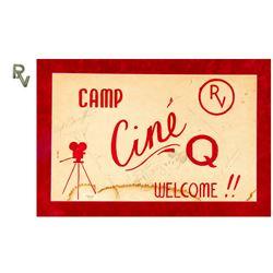 "Walt Disney Signed ""Rancheros Visitadores"" Camp Sign."
