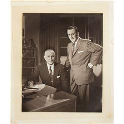 Walt & Roy Large Walt Disney Studio Photo.
