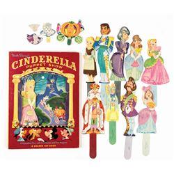 Cinderella  Puppet Show Book.