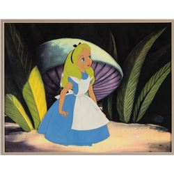 "Original Production Cel from ""Alice In Wonderland""."