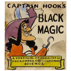 """Captain Hook's Black Magic"" Prototype Book."