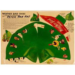 """Peter Pan"" Punch-Out Hat."