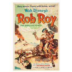 "Walt Disney's ""Rob Roy"" Movie Poster."