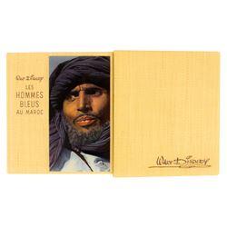 Walt Disney's  Les Hommes Bleus Au Maroc  Book.