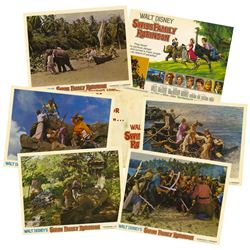 """""""Swiss Family Robinson"""" Complete Set of Lobby Cards."""