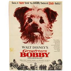 """""""Greyfriars Bobby"""" Promotional Campaign Booklet."""