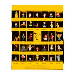 Set of (34) Hand-Painted Disneykins by Marx.