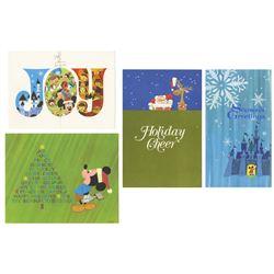 1960s Disney Studio Christmas Cards.