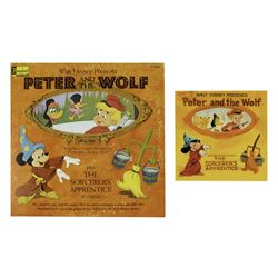 """""""Peter and the Wolf"""" Record & Concept Art."""