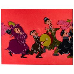 """Original Production Cel from """"Mary Poppins""""."""