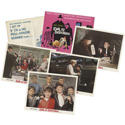 """Set of (9) """"Emil and the Detectives"""" Lobby Cards."""