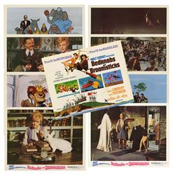 """Set of (9) """"Bedknobs and Broomsticks"""" Lobby Cards."""