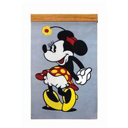 Walt Disney Studio Executive Offices Wall-Mounted Rug.