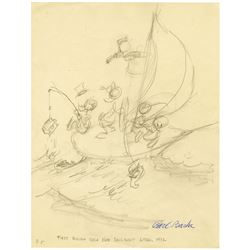 "Carl Barks ""Sailing the Spanish Main"" Original Concept."