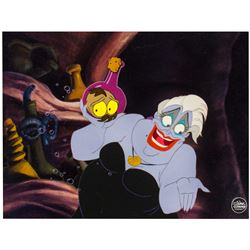 "Original Production Cel from ""The Little Mermaid""."