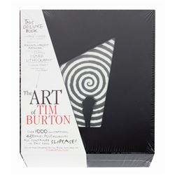 "Signed ""The Art of Tim Burton"" Deluxe Edition."