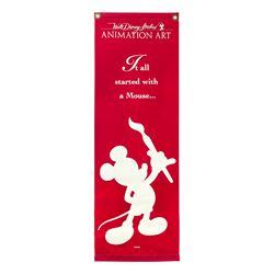 Walt Disney Studios Animation Art Banner.