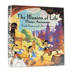 """The Illusion of Life"" Signed Hardcover Book."