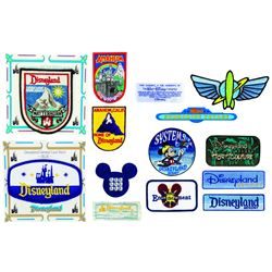 Collection of (14) Disneyland Patches.