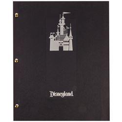 """Cast Member """"Disneyland Diary"""" Booklet."""