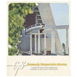 Disney Parks Transportation Services Brochure.