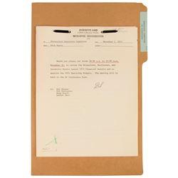 Disneyland Executive Committee Documents.