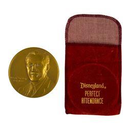 Bronze Walt Disney Commemorative Coin.