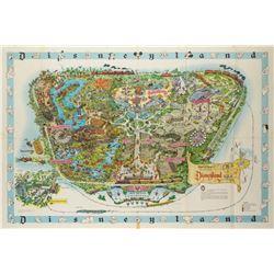 Disneyland Souvenir Map 1962.