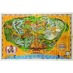 Disneyland Souvenir Map 1975.