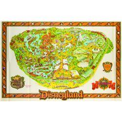Disneyland Souvenir Map 1982.