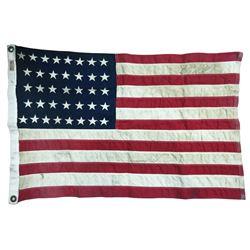 Disneyland 37-Star American Flag.