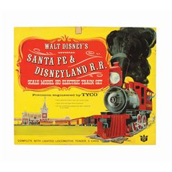 """Santa Fe & Disneyland R.R"" Scale Model Set in Box."
